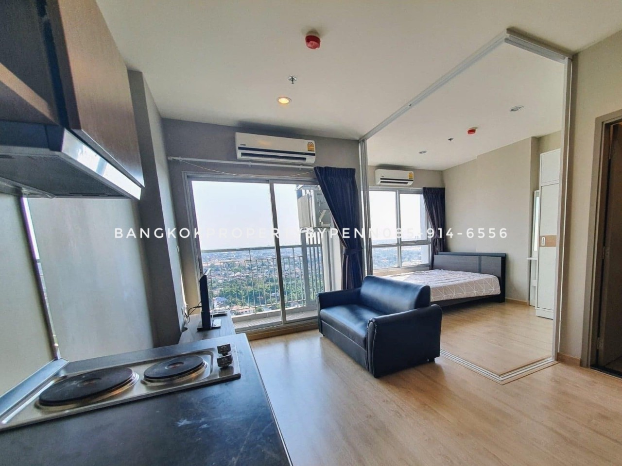 For Rent The Tempo Grand Sathorn-wutthakat  High Floor, Close to BTS Wutthakat