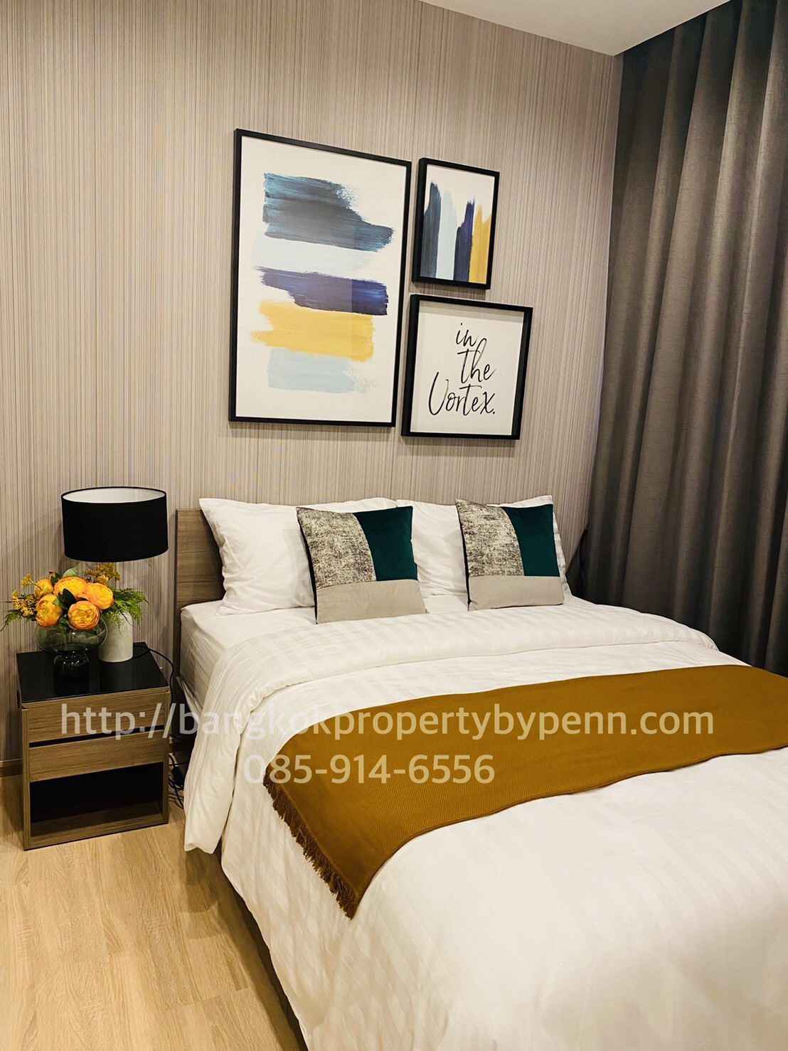 The Line Phahon – Pradipat – 34 sqm Ready to move in