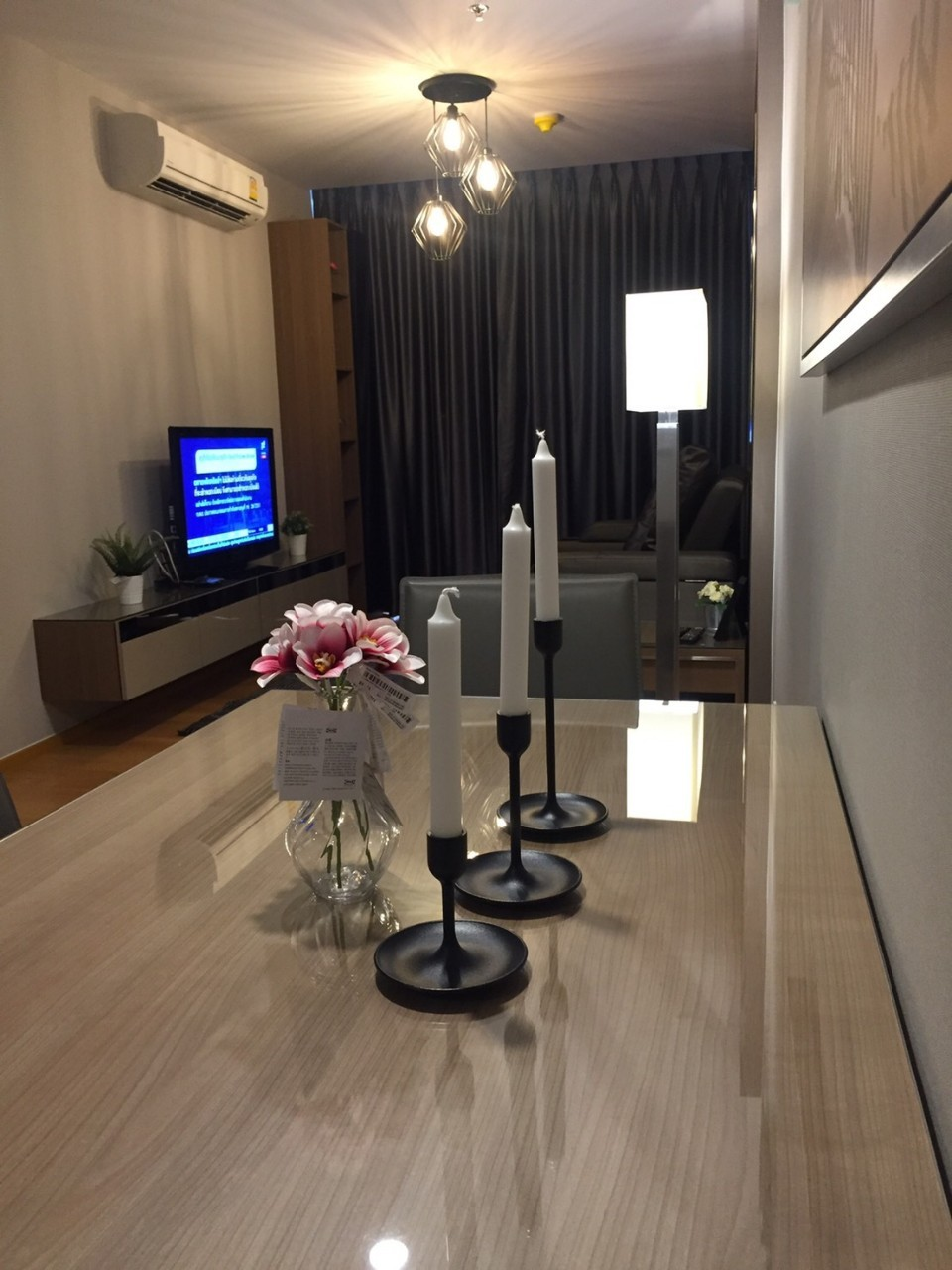 For Rent NOBLE REVO SILOM***Special Price 29,000*** Corner Unit and River View