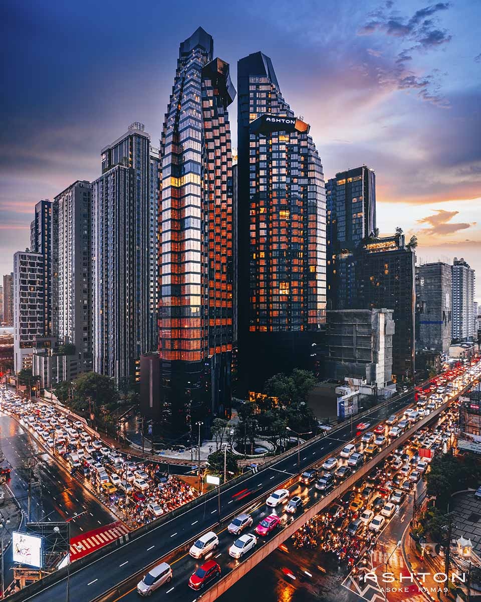 Ashton Asoke-Rama 9 – MRT Phra Ram 9 290 meters – Unit 40 Sq.m