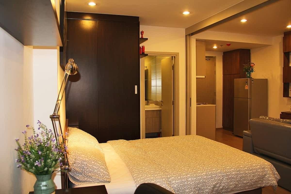 Ideo Q Chula-Samyan for Rent – MRT Sam Yan 350 meters – Unit 35 Sq.m.